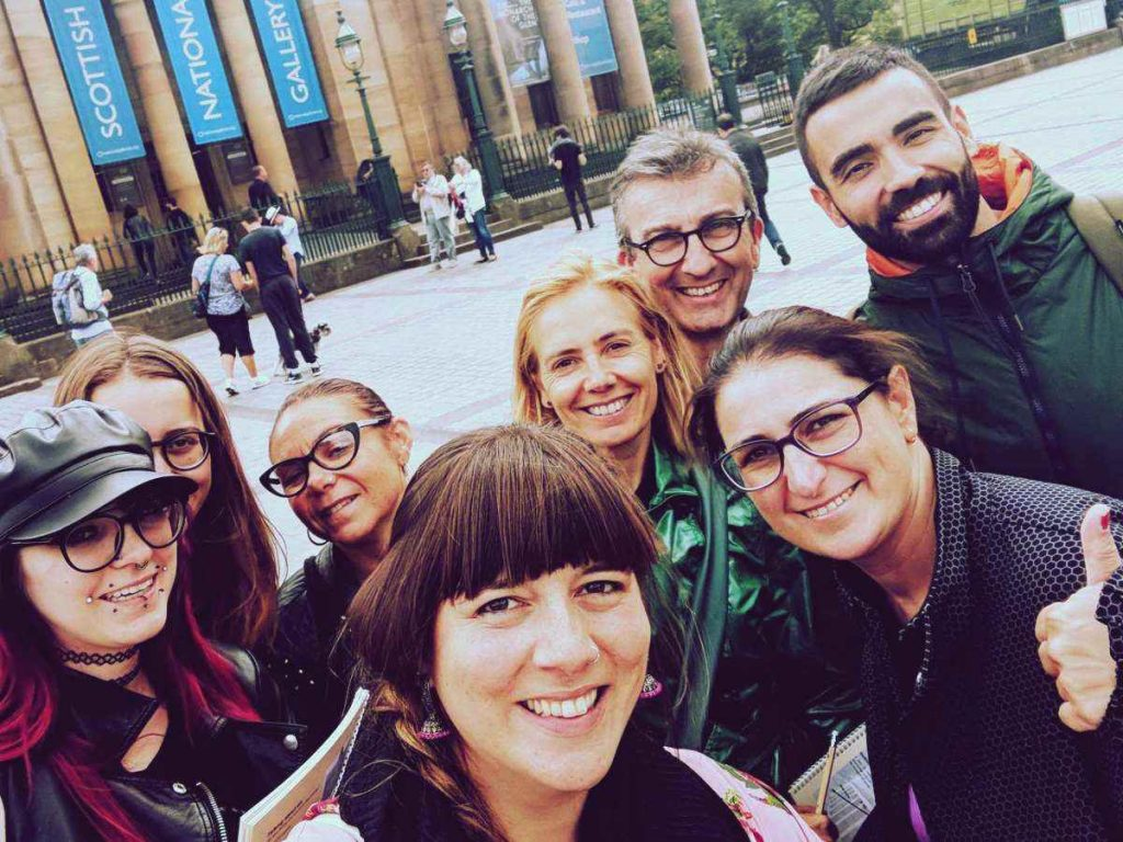 community Edinburgh experience language school