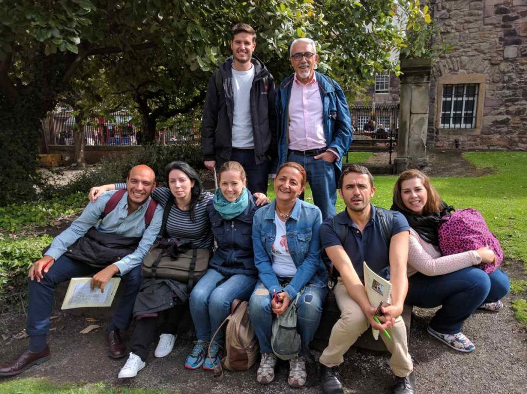 advanced speakers english intensive course edinburgh