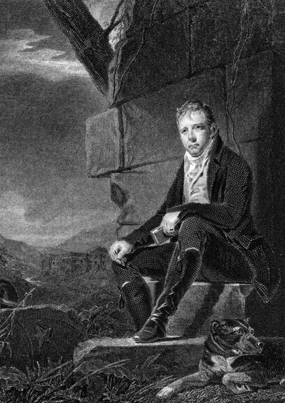 Print of Walter Scott as a young man