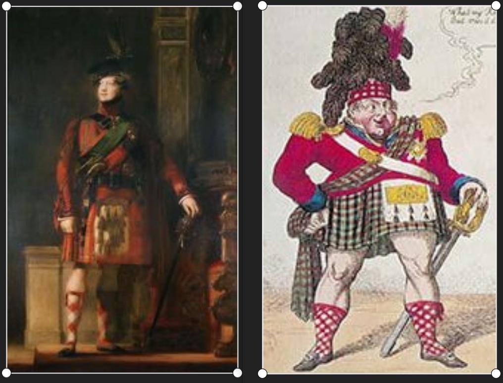 Paintings of King George IV