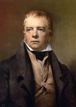 Painting of Walter Scott by Henry Raeburn